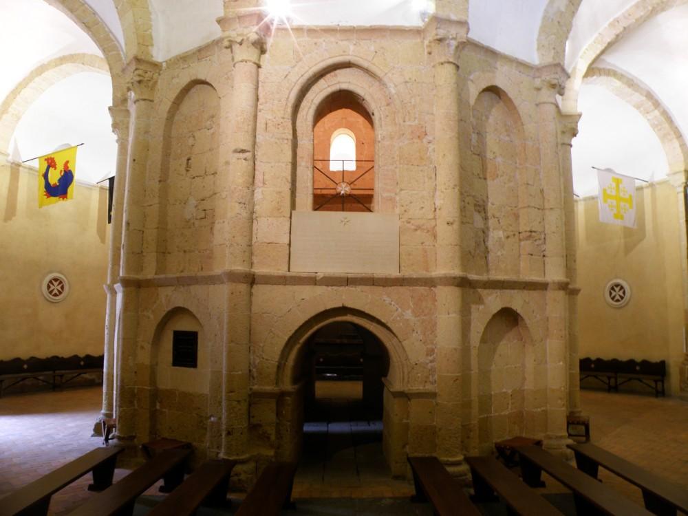 Interior da Igreja de Vera Cruz