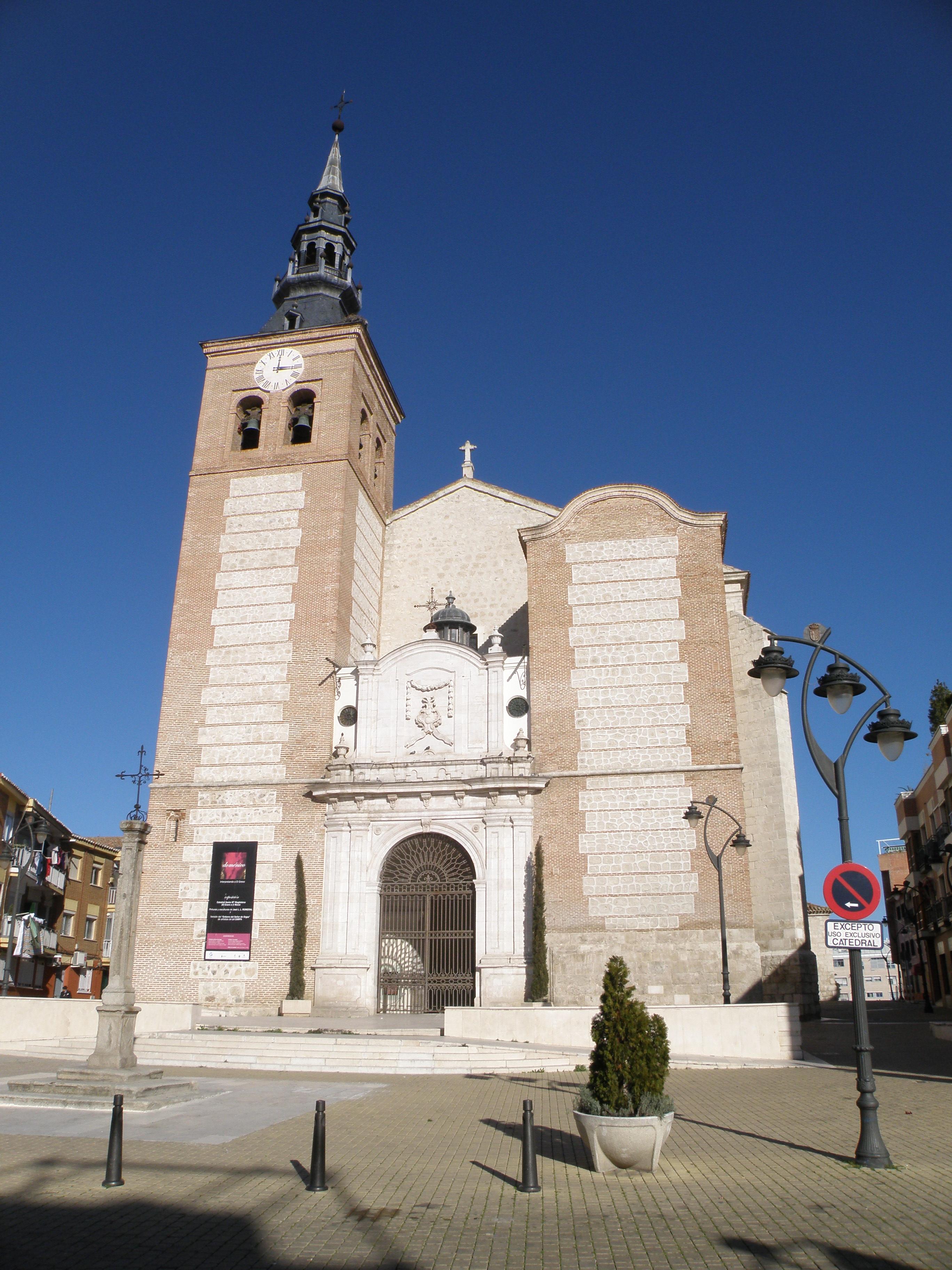 a catedral de getafe comunidade de madrid um